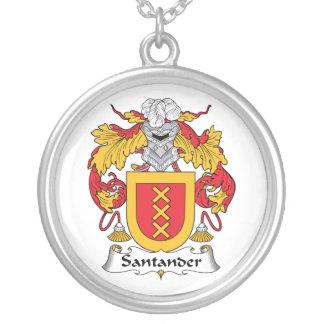 Escudo de la familia de Santander Collares Personalizados