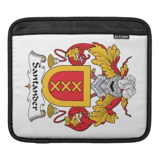 Escudo de la familia de Santander Fundas Para iPads