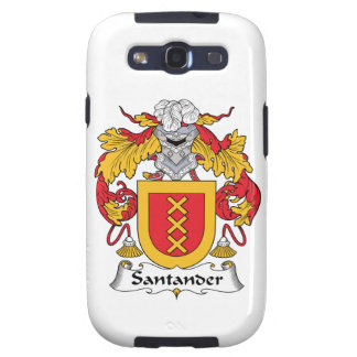 Escudo de la familia de Santander Galaxy S3 Funda