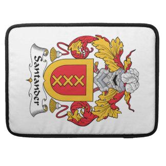 Escudo de la familia de Santander Funda Macbook Pro