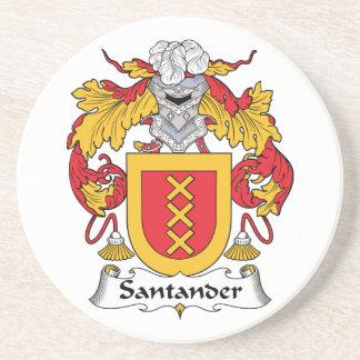 Escudo de la familia de Santander Posavasos Diseño