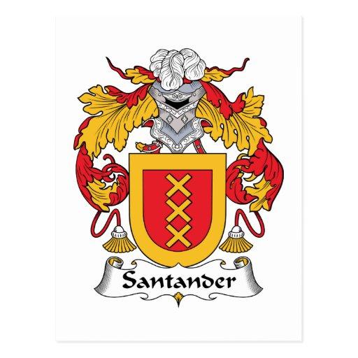 Escudo de la familia de Santander Postal
