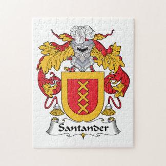 Escudo de la familia de Santander Rompecabeza