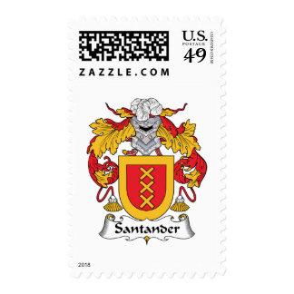 Escudo de la familia de Santander Sellos