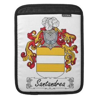 Escudo de la familia de Santandrea Funda Para iPads