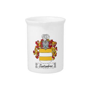 Escudo de la familia de Santandrea Jarra