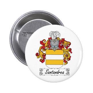 Escudo de la familia de Santandrea Pins