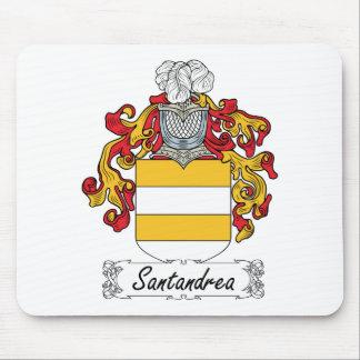 Escudo de la familia de Santandrea Tapetes De Ratones