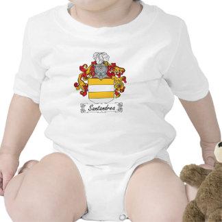Escudo de la familia de Santandrea Trajes De Bebé