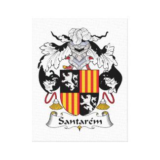 Escudo de la familia de Santarem Impresiones En Lienzo Estiradas