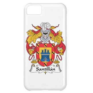 Escudo de la familia de Santillan Funda Para iPhone 5C