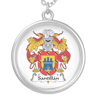 Escudo de la familia de Santillan Grimpolas