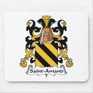 Escudo de la familia de Santo-Amand Alfombrillas De Ratones