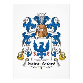 Escudo de la familia de Santo-Andre Anuncio