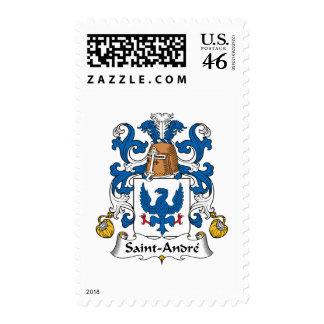 Escudo de la familia de Santo-Andre Sellos