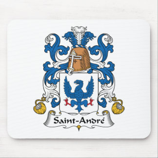 Escudo de la familia de Santo-Andre Alfombrillas De Ratón