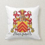 Escudo de la familia de Santo-Aubert Almohadas