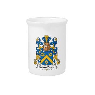 Escudo de la familia de Santo-Denis Jarras De Beber