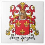 Escudo de la familia de Santo-Germán Azulejos Cerámicos