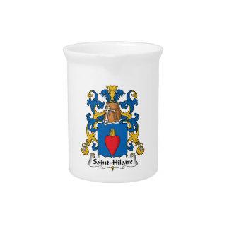 Escudo de la familia de Santo-Hilario Jarrones