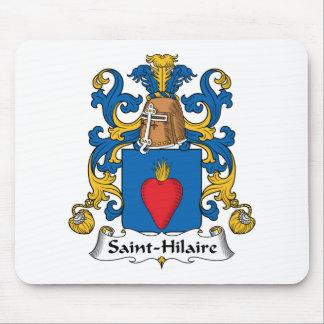 Escudo de la familia de Santo-Hilario Alfombrillas De Ratones