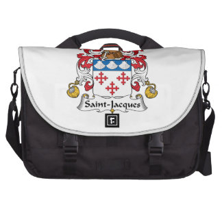Escudo de la familia de Santo-Jacques Bolsas Para Portatil