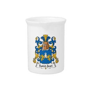 Escudo de la familia de Santo-Jean Jarras