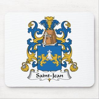Escudo de la familia de Santo-Jean Alfombrilla De Ratón