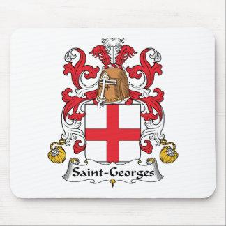 Escudo de la familia de Santo-Jorte Alfombrilla De Ratones