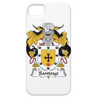 Escudo de la familia de Santos iPhone 5 Fundas