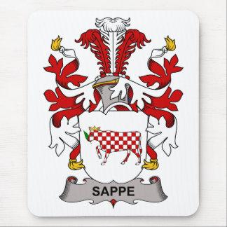 Escudo de la familia de Sappe Tapetes De Ratones