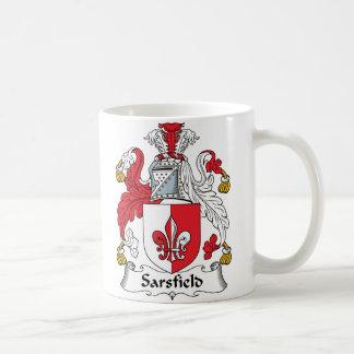 Escudo de la familia de Sarsfield Taza De Café