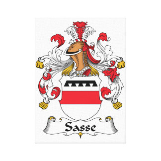 Escudo de la familia de Sasse Impresiones En Lona Estiradas