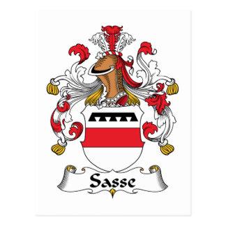 Escudo de la familia de Sasse Postal