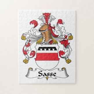 Escudo de la familia de Sasse Puzzles