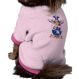 Escudo de la familia de Sauer Camisa De Mascota