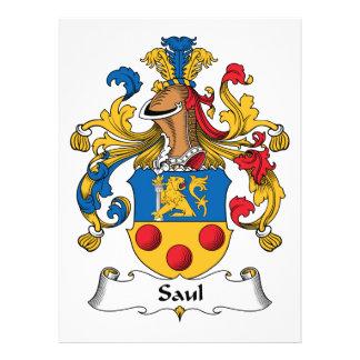 Escudo de la familia de Saul Anuncios Personalizados