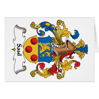 Escudo de la familia de Saul Felicitaciones