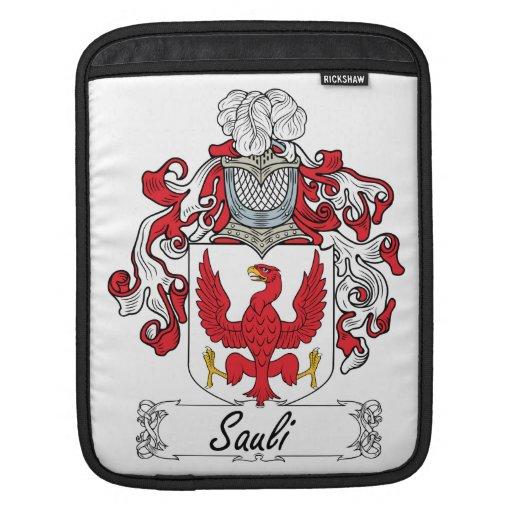 Escudo de la familia de Sauli Funda Para iPads