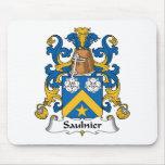 Escudo de la familia de Saulnier Tapete De Ratón