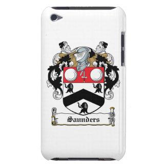 Escudo de la familia de Saunders Case-Mate iPod Touch Carcasa