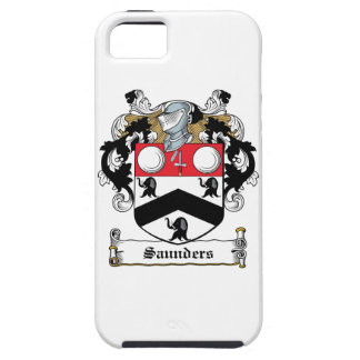 Escudo de la familia de Saunders iPhone 5 Fundas