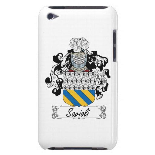 Escudo de la familia de Savioli iPod Case-Mate Protectores