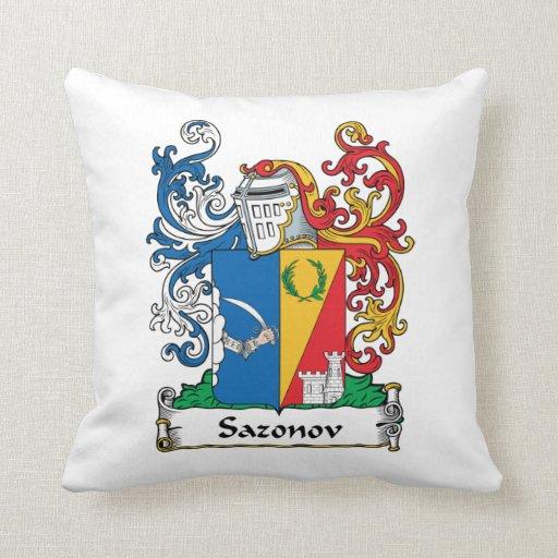 Escudo de la familia de Sazonov Cojin