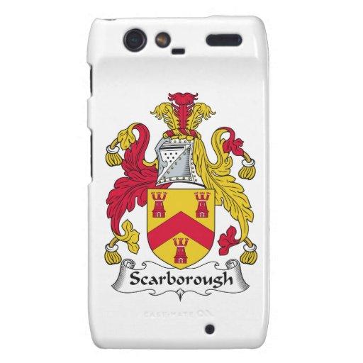 Escudo de la familia de Scarborough Motorola Droid RAZR Carcasa