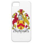 Escudo de la familia de Scarborough iPhone 5 Case-Mate Fundas
