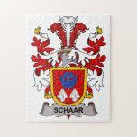 Escudo de la familia de Schaar Puzzle Con Fotos