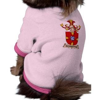 Escudo de la familia de Schaeffer Camisa De Perrito