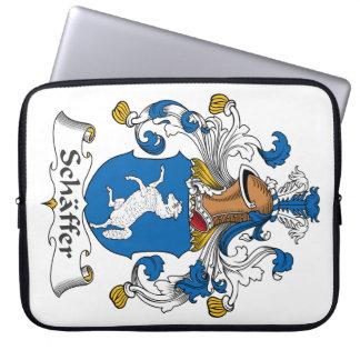 Escudo de la familia de Schaffer Manga Portátil