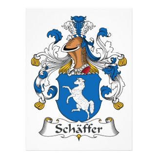 Escudo de la familia de Schaffer Anuncio Personalizado